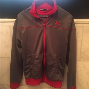 Under Armour med full zip sweatshirt/light jacket
